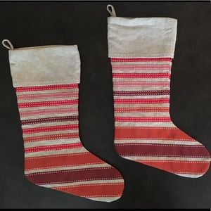 New with tags - West Elm - stockings